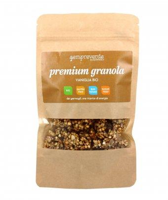 Granola Crudista con Grano Saraceno Germogliato e Vaniglia