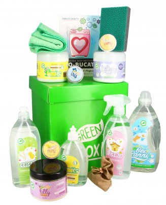 Green Box - Kit di detersivi per la casa