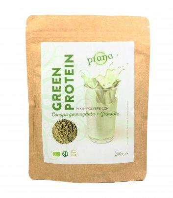 Mix in Polvere Canapa Germogliata e Girasole - Green Protein
