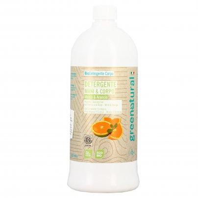 Detergente Delicato Mani e Corpo - Menta e Arancio 1000 ml