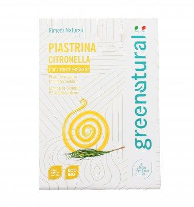 Piastrina Antizanzare alla Citronella (Interni/Esterni)