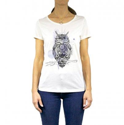 T-Shirt Donna Gufo Taglia S