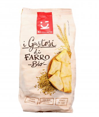 Crackers di Farro Bio - I Gustosi