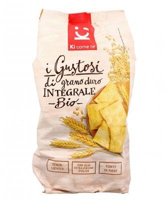 Crackers di Grano Duro Integrale Bio - I Gustosi