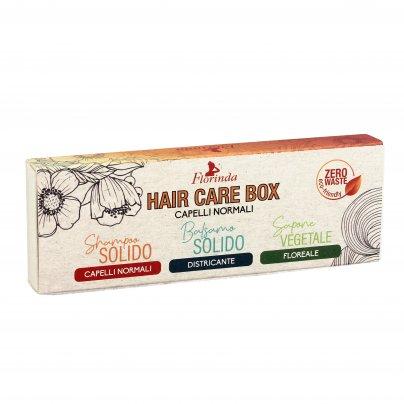 """Set Saponi Solidi """"Hair Care Box"""" - Capelli Normali"""