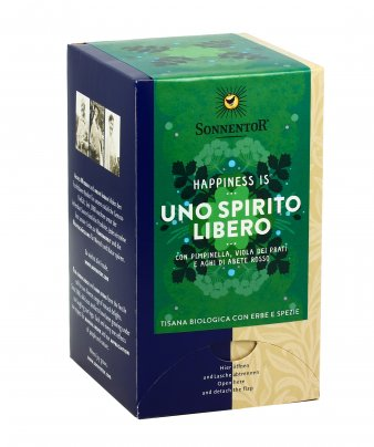 Happiness Is... Uno Spirito Libero - Tisana Bio Erbe e Spezie
