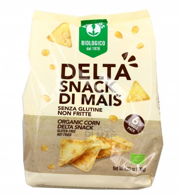 Happy Pop - Delta Snack di Mais - 6 Bustine Monodose