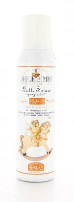 Latte Solare Spray Protezione Molto Alta Spf50 - Sole Bimbi