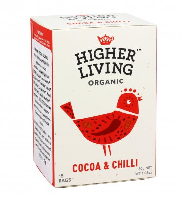 Infuso Bio con Cacao e Peperoncino
