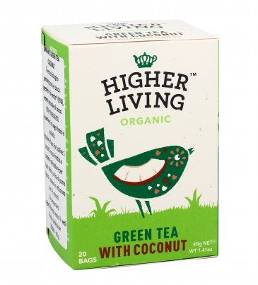 Tè Verde Bio al Cocco
