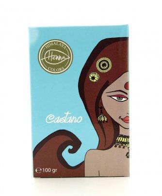 Tinta Capelli Naturale Himalaya Henna Colors Castano