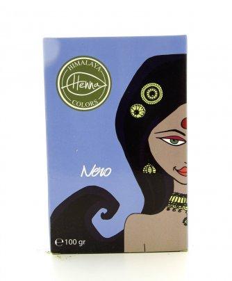 Tinta Capelli Naturale Himalaya Henna Colors Nero