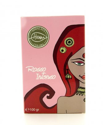 Tinta Capelli Naturale Himalaya Henna Colors Rosso Intenso