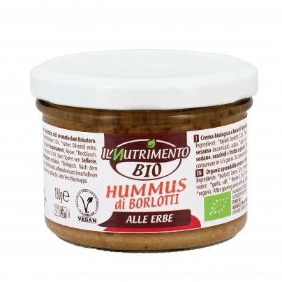 Hummus di Fagioli Borlotti alle Erbe Bio - Senza Glutine