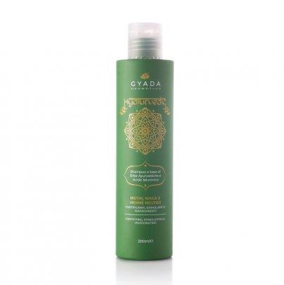 Shampoo Fortificante con Methi, Maca e Hennè Neutro - Hyalurvedic