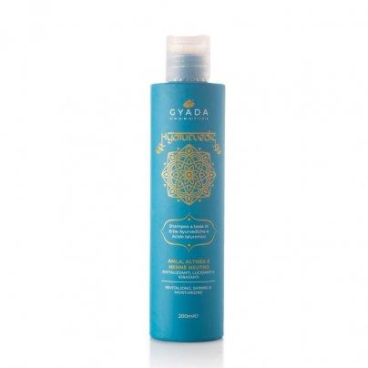 Shampoo Rivitalizzante con Amla, Althea e Hennè Neutro - Hyalurvedic