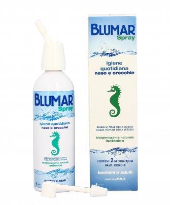 Blumar Spray - Acqua di Mare per Igiene Naso e Orecchie