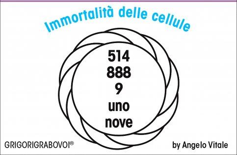 Tessera Radionica 95 - Immortalità delle Cellule