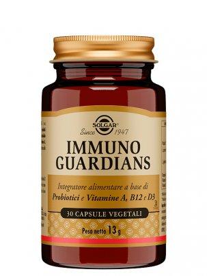 Immuno Guardians - Probiotici, Vitamine A, B12 e D3