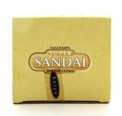 Nag Champa Super Sandal -  Incenso Coni