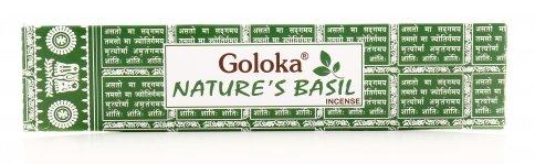 Incensi Goloka - Natura Basilico