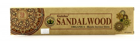 Incensi Goloka - Sandalwood Organica