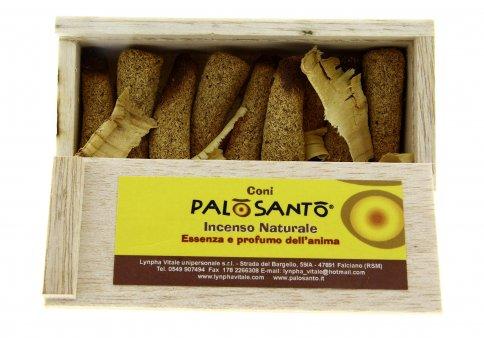 Coni di Palo Santo in Scatolina di Balsa