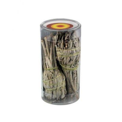 Salvia Bianca (Salvia Apiana) 2 pezzi - 12x3 cm