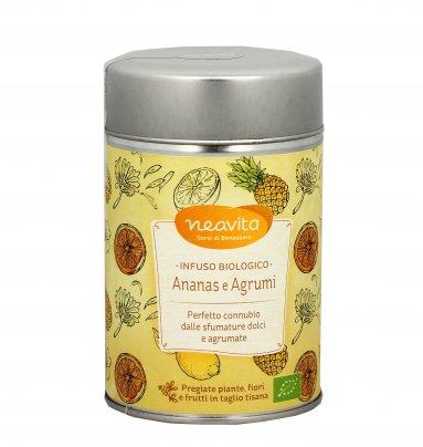 Infuso Biologico Ananas e Agrumi - Confezione Latta