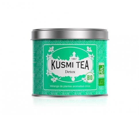 """Tè Verde Bio """"Detox"""" Mate e Limone Barattolo Metallo Sfuso (100 g)"""