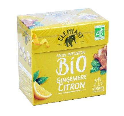 Infuso Zenzero e Limone Bio Gingembre Citron Moon Infusion