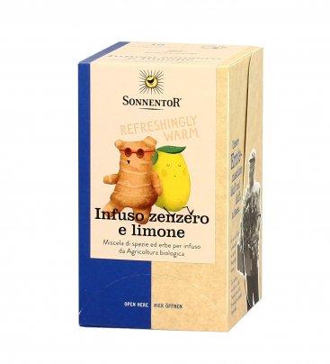 Infuso Bio con Zenzero e Limone