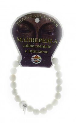Bracciale Power Madreperla