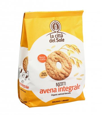 Biscotti Avena Integrale Bio