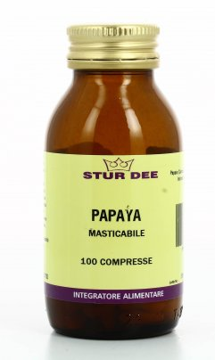 Papaya - 100 Compresse da 700 mg. - 70 gr.