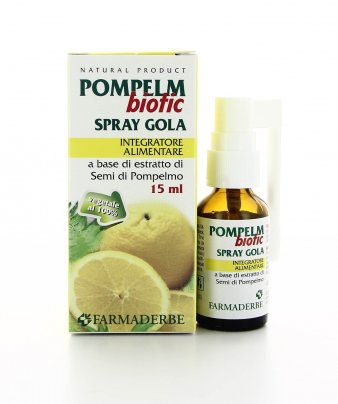 Spray Gola - PompelmBiotic 100% Vegetale