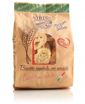 Biscotti Vegetale con Nocciole Bio