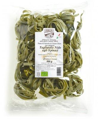 Tagliatelle Nido agli Spinaci - Pasta di Semola di Grano Duro