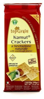 Crackers KAMUT® - grano khorasan a Lievitazione Naturale