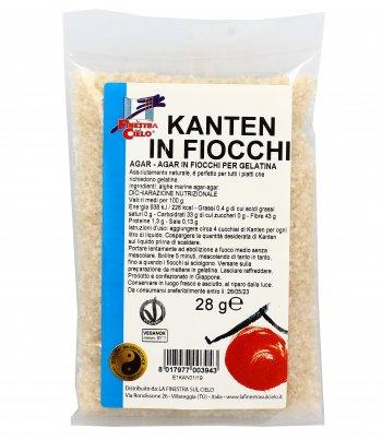 Kanten Fiocchi - Agar Agar per Gelatina