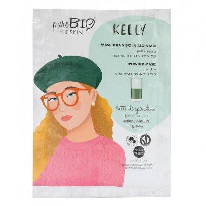 Maschera Viso Alginato per Pelle Secca - Kelly Latte di Spirulina