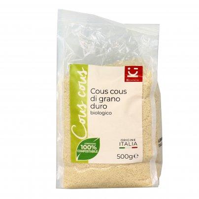 Couscous di Grano Duro Biologico - Precotto ed Essiccato