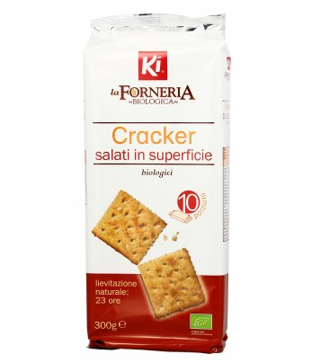 Crackers Salati in Superficie Biologici - La Forneria