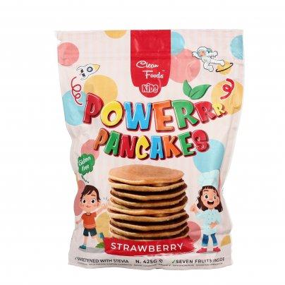 Kids Powerrr Pancakes alla Fragola Senza Glutine - Preparato Pancake per Bambini