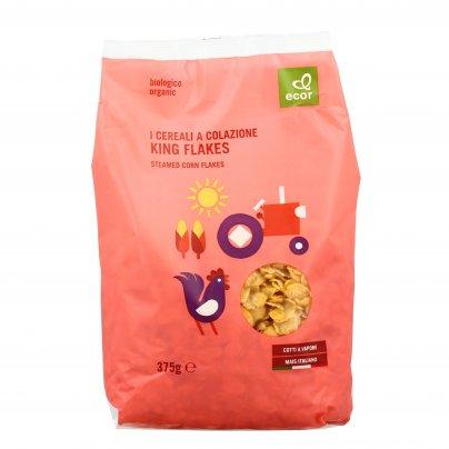 """Corn Flakes """"King"""" Cotti al Vapore Bio - Cereali per la Colazione"""