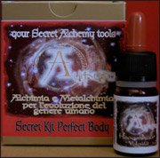 Secret Kit Perfect Body - Your Secret Alchemy Tools