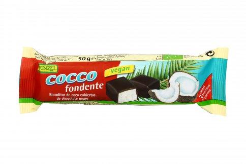 Barretta Cioccolato Fondente con Cocco