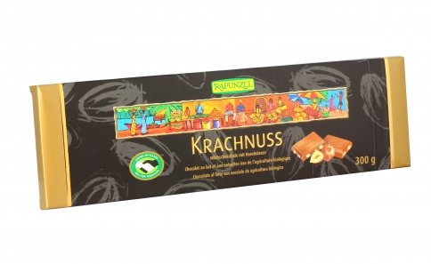 Cioccolato al Latte con Nocciole - Krachnuss