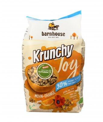 Muesli di Avena con Semi di Papavero e Arancia - Krunchy Joy Mohn Orange