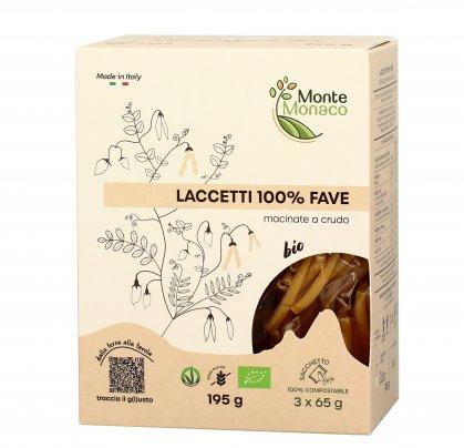 Laccetti Pasta 100% Farina di Fave Bio - Senza Glutine